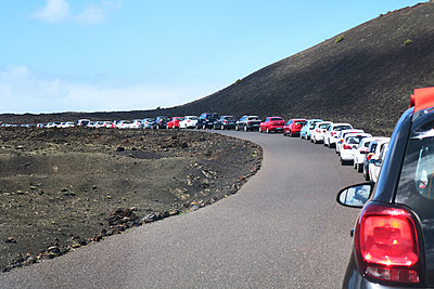 Cars parking in Tinajo - p851m1362561 by Lohfink