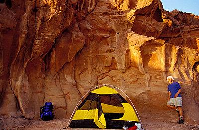Zelten in der Natur - p2200191 von Kai Jabs