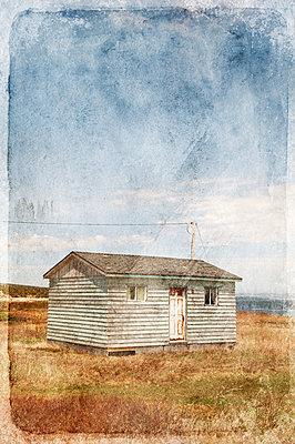 Altes Holzhaus in Kanada - p470m1090537 von Ingrid Michel