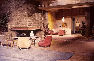 Modern wohnen in den 50ern - p8990018 von Celluloids