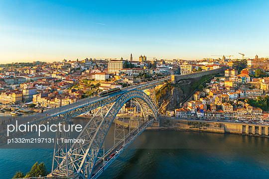Portugal, Porto, Bridge, Ponte Dom Luís I - p1332m2197131 by Tamboly