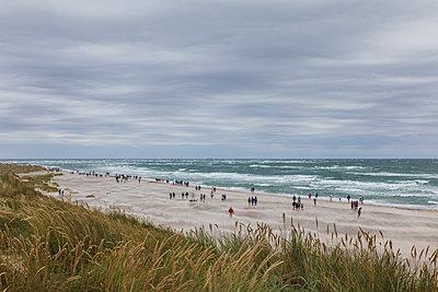 Menschen am Strand - p1338m2150944 von Birgit Kaulfuss