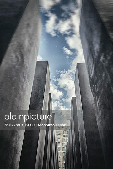Germany, Berlin, Berlin Mitte, Holocaust memorial, Holocaust memorial - p1377m2105020 by Massimo Ripani