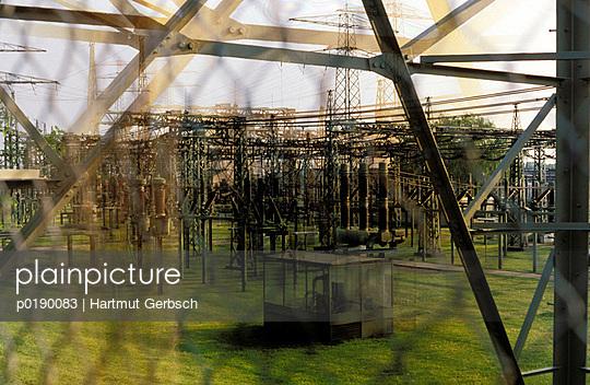 Umspannwerk - p0190083 von Hartmut Gerbsch