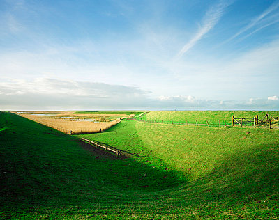 Landscape in Zeeland - p1132m1016957 by Mischa Keijser