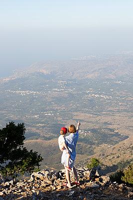 Blick über Kreta - p454m2030733 von Lubitz + Dorner
