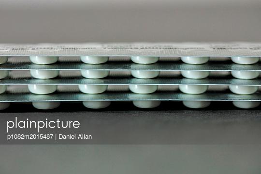 Stack Of Pills - p1082m2015487 by Daniel Allan