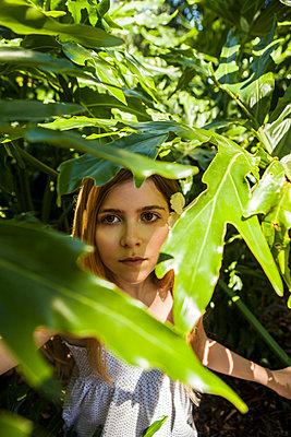 im Urwald verstecken - p045m1225903 von Jasmin Sander