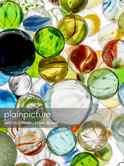 Glass marble - p401m2245060 by Frank Baquet