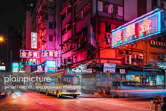 Hongkong - p416m1498133 von Jörg Dickmann Photography