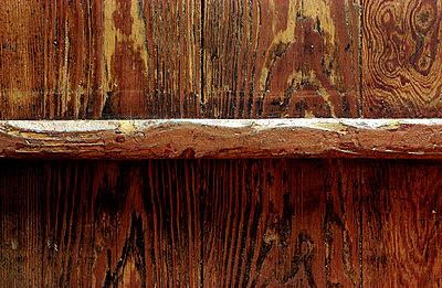 Holzfußboden - p1650076 von Andrea Schoenrock