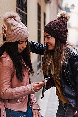 Beautiful Lesbian Couple. LGBT Concept. - p1166m2165950 by Cavan Images
