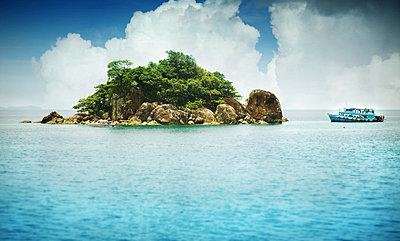 Exotic Island in Thailand - p1072m830395 by Joe Eitzen