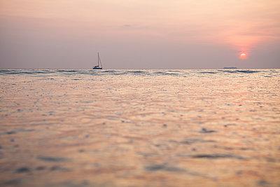 Sonnenuntergang - p1157m1004705 von Klaus Nather