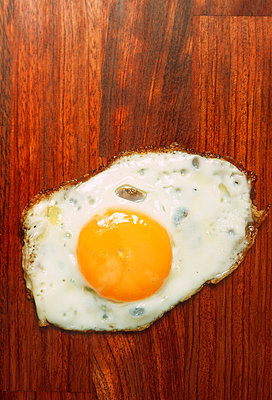 A fried egg - p30110970f by Ludger Paffrath