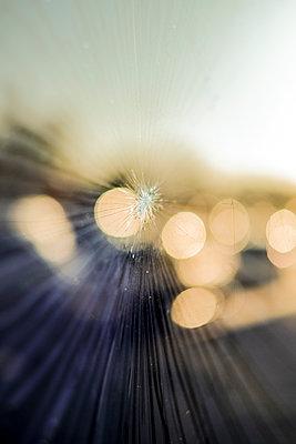 Shattered glasss window - p1228m1497013 by Benjamin Harte
