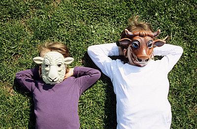 Tiermasken - p0451877 von Jasmin Sander
