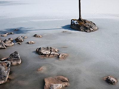 Eisfläche - p715m694488 von Marina Biederbick