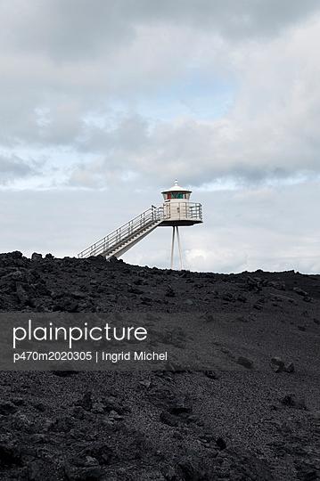 Leuchtturm auf Heimaey - p470m2020305 von Ingrid Michel