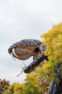 Schlangenkopf im Wiener Prater - p1357m1487210 von Amadeus Waldner