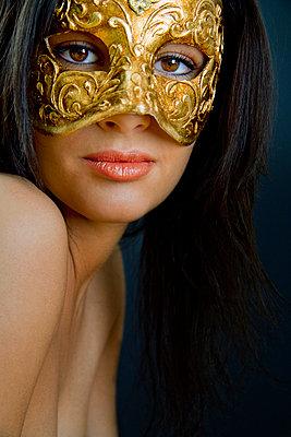 Venezianische Maske - p3300198 von Harald Braun