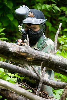 Paintball - p4424517f by Design Pics