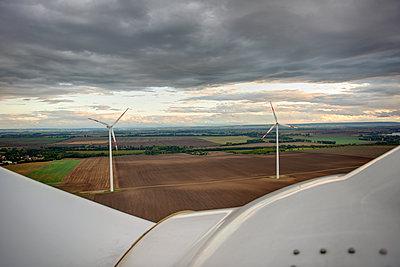 Windpark - p1099m1526259 von Sabine Vielmo