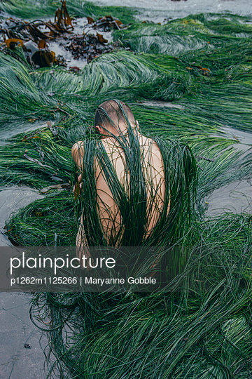 Man Trapped in Plants - p1262m1125266 by Maryanne Gobble