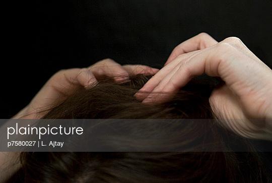 Woman's head - p7580027 by L. Ajtay