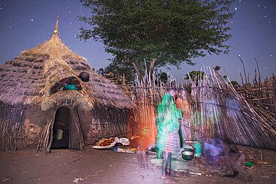 Africa, Uganda, Karamojong village - p1167m2283459 by Maria Schiffer
