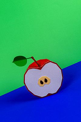 Half apple - p451m2263527 by Anja Weber-Decker