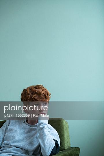 Rothaariges Mädchen - p427m1552859 von Ralf Mohr