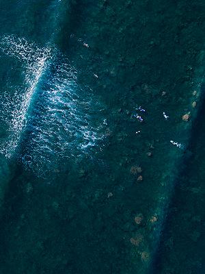 Indonesien, Bali, Nusa, Dua, Surfer  - p1108m2181697 von trubavin