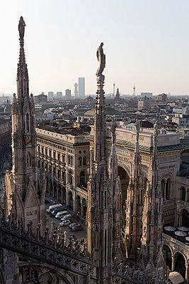 Cathedral of Milano - p300m1129789f by Nabiha Dahhan