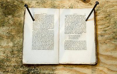Buch festgesteckt - p994m753617 von Philip BERNARD