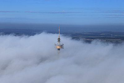 Spitze des Europaturms - p1016m987708 von Jochen Knobloch