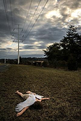 Icarus Fallen  - p1019m2076555 by Stephen Carroll