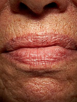 Mund einer alten Frau - p1092m1108893 von Rolf Driesen