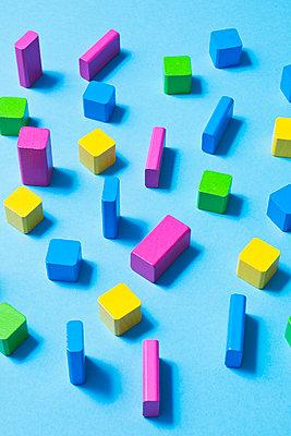 Toy blocks - p1149m2028499 by Yvonne Röder