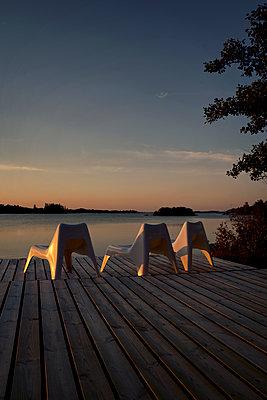 Sunset on Kökar island - p470m2208740 by Ingrid Michel