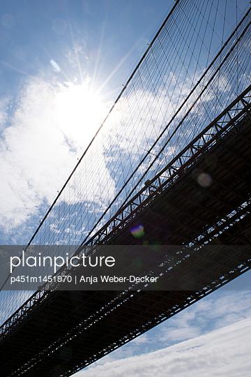 Brooklyn Bridge - p451m1451970 von Anja Weber-Decker