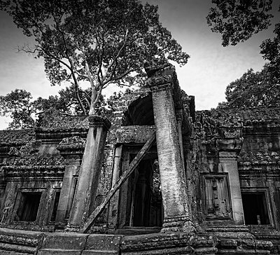 Ancient Angkor temple - p1445m1586174 by Eugenia Kyriakopoulou