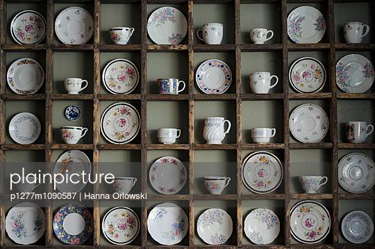 Porzellansammlung - p1277m1090587 von Hanna Orlowski