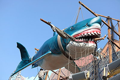 Bissiger Hai - p045m945601 von Jasmin Sander