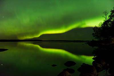 Nothern lights - p1241m2100371 by Topi Ylä-Mononen