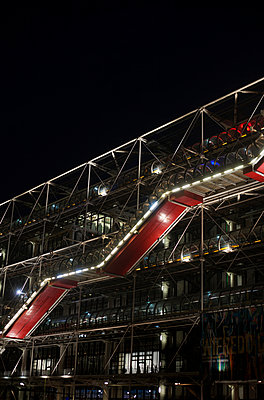 Centre Pompidou, Beaubourg, Paris - p1028m2087277 von Jean Marmeisse