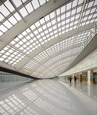 Beijing Capital International Airport Terminal 3, Beijing, China. - Architects: Foster & Partners - p8550938 by Tim Griffith