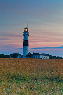 Germany, North Frisia, Sylt, Kampen lighthouse - p300m2012556 by Günter Flegar