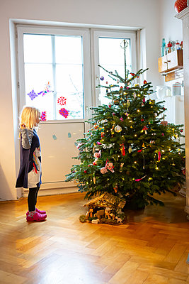 The most beautiful christmas tree ever - p454m2128137 by Lubitz + Dorner