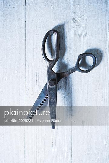 Rustikale Schere - p1149m2026221 von Yvonne Röder